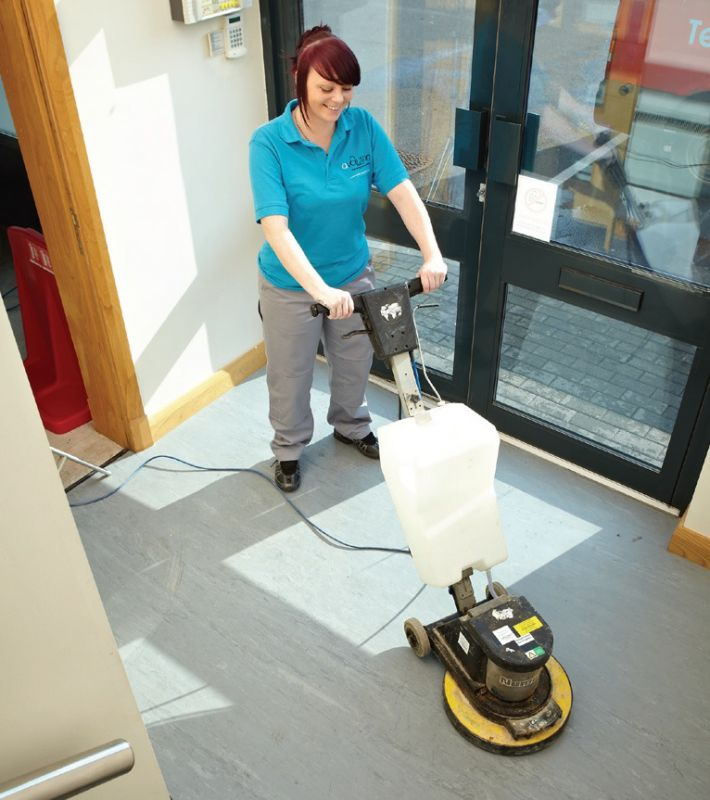 Carpet cleaning and hard floor care